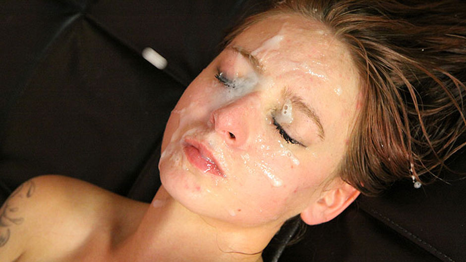 Facial wasn't enough for carmen, aims for a creampie too